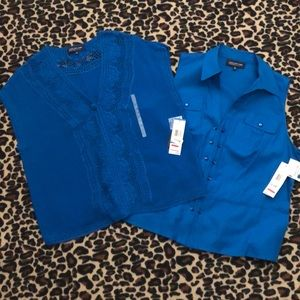 Blouse and Sweater Set